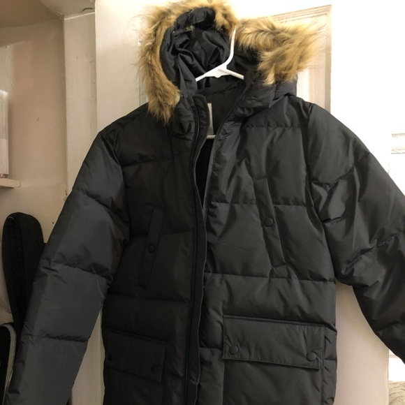 attractive & durable uk cheap sale modern techniques Zara Kids Black Down Coat NWT